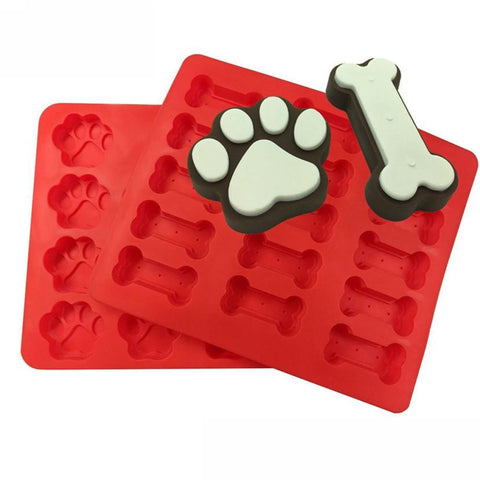 2pcs silicone biscuit and cake molds