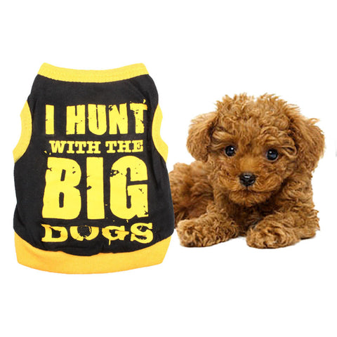 'Run with the big dogs' t-shirt