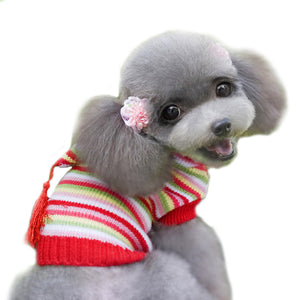pet clothes for small dogs winter christmas