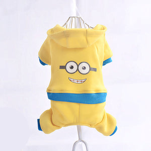 Cartoon Pet Costume Hoodie for Small Dogs