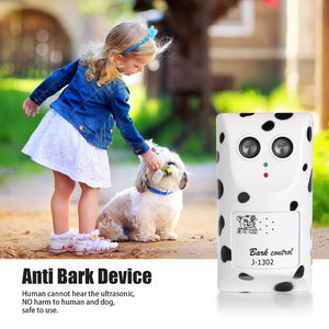 Ultrasonic Anti Bark Dog Training Device - EU & US Plug