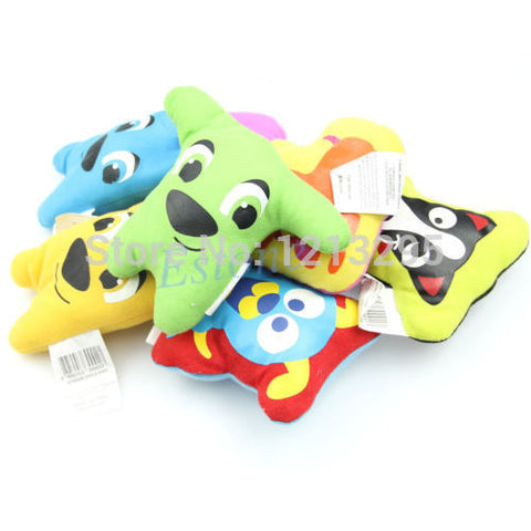 Cute Cartoon Style Squeaker Chew Toy for Dogs