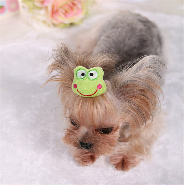 3D hair accessories for Yorkies