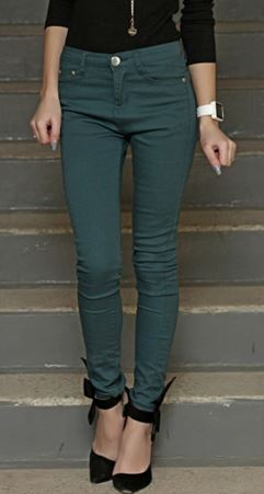 Perfect Pencil Pants in Evergreen