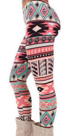 Cute Casual Fall/Winter Printed Leggings