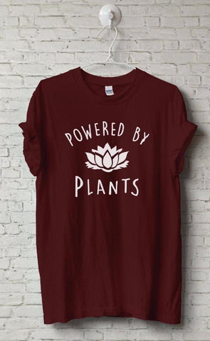 Powered By Plants- Veggie Life Graphic Tee