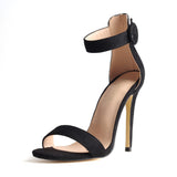 Ankle Strap Gladiator Stilettos in 6 Colors