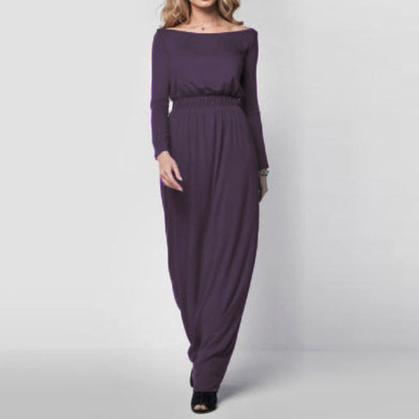 First Impressions- Long Sleeve Maxi Dresses