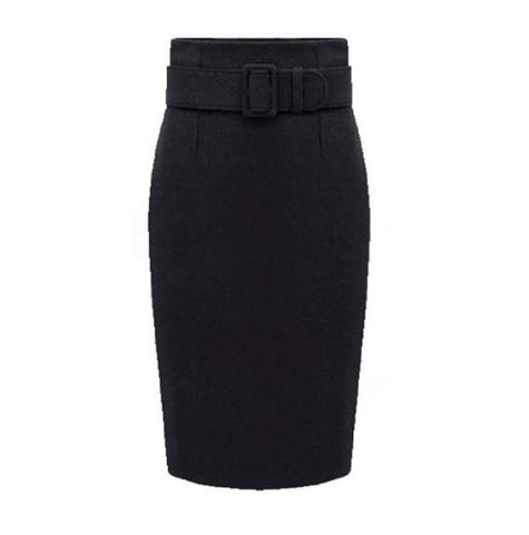 Winter Wool/Cashmere Blend Pencil Skirt