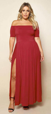 The Dianna Maxi Dress - Plus Size