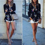 Fabulous Fall Floral Long Sleeve Tunic