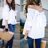 Yours Forever Off Shoulder Blouse