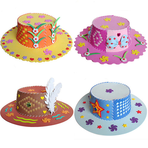 Do-It-Yourself (DIY) Hats for Kids