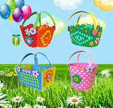 Colorful Basket Do-It-Yourself (DIY) Craft Kit for Kids