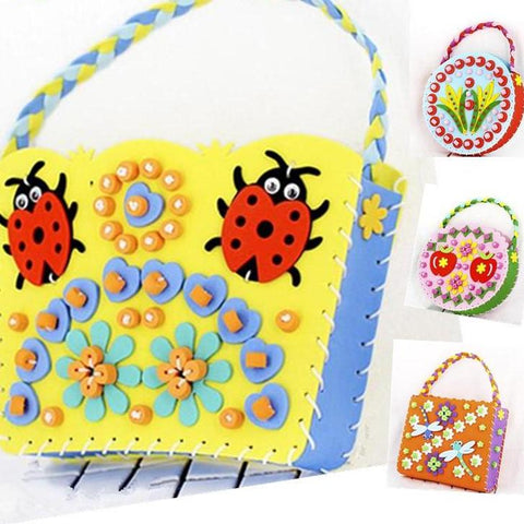 DIY Sewing Bag Kit for Kids