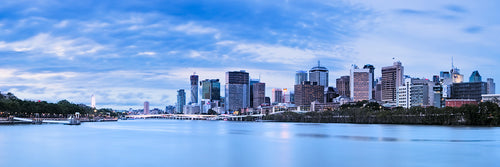 Brisbane Skyline Blue Hour