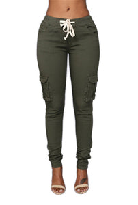 American Capris with Side Leg Pockets - 2 Colors