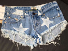 Fit for a Star - Low-Waist Denim Shorts