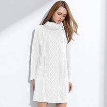 Niva Knit Turtleneck Sweater Dress