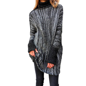 Lisa Turtle Neck Pullover Sweater - 2 Colors