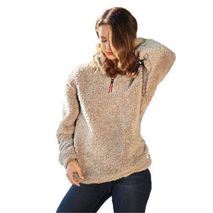 Bobbi Country Fleece Pullover Sweater - 7 Colors