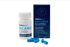MIGHTY SELF LAUNCHES NEW CBD-BASED NUTRACEUTICAL