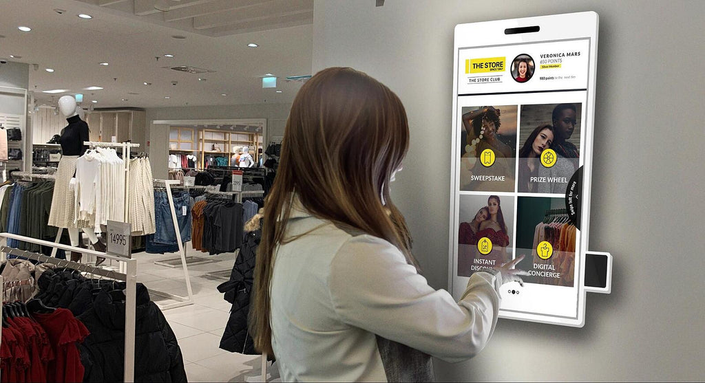 A new frictionless kiosk is revolutionizing the brick-and-mortar experience