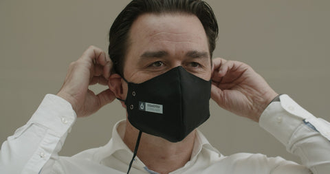 """New revolutionising self-sterilising technology  10.12.2020, Zürich – Osmotex has developed the Osmotex Steriliser Technology that can make textiles and personal items virus and bacteria free. The company has now launched the first series of masks for early adopters at the crowdfunding platform Indiegogo. With the Covid-19 outbreak and other virus infections, the market for sterilising facemasks and personal items is increasing and Osmotex considers its solution a real breakthrough.  A picture containing person, person Description automatically generated  Osmotex Steriliser facemask  """"With the Covid-19 pandemic, we saw new opportunities for our proprietary osmosis technology. To help make surfaces virus and bacteria free, we have developed the Osmotex Steriliser Technology which we are working to rapidly bring to the market,"""" says Joacim Holter, Chairman of the Board at Osmotex.  """"In addition to the very high sterilising effect, the most important benefit of the technology is the fact that the effective sterilising happens within a few minutes, says Holter.  Osmotex Steriliser Technology is a unique and ground-breaking technology based on Osmotex' core commercialized technology, electronically controlled moisture migration in fabrics based on an electro-osmotic and electro-chemical process. By applying an electric puls, the Osmotex Steriliser technology effectively sterilise the textile and any objects in direct contact within minutes. The technology is already proven to have a strong sterilising effect.  """"Over the past months, we have worked hard with intensive testing to further develop the technology. Internal tests have continuously shown instances of disinfecting agents able to exterminate virus and bacteria, and independent studies from the Zürich University for Applied sciences (ZHAW) confirm a 99,999% efficacy on virus and 100% efficacy on bacteria,"""" says Holter.  The technology stimulates a controlled interaction of moisture and electric pulses which form t"""
