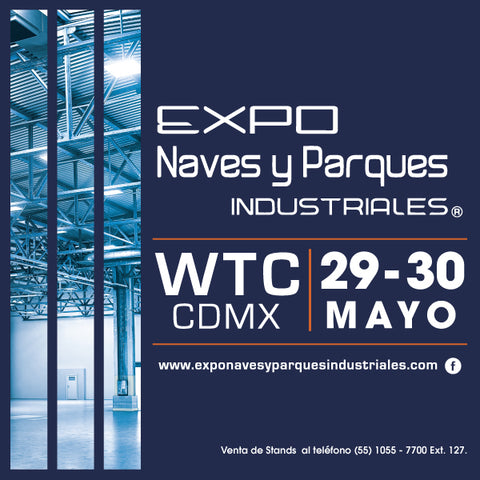 Visitenos en Expo Naves y Parques Industriales