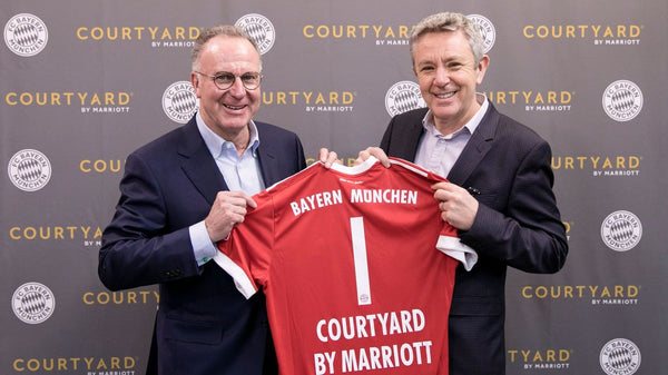 Courtyard by Marriott se une con el FC Bayern