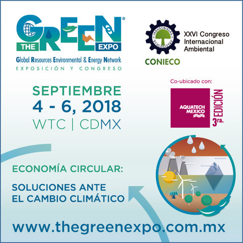 Los Invitamos a The Green Expo 2018