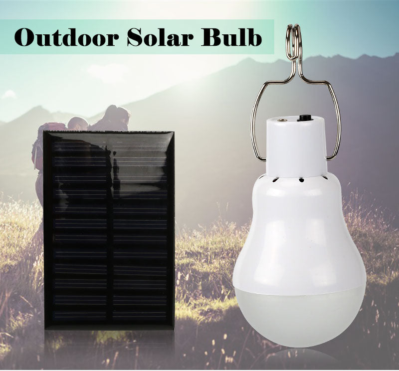 GITEX Solar power light bulb