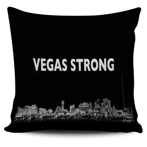Vegas Strong Pillow Cover