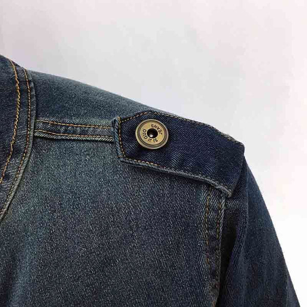 Women Vintage Denim Jacket