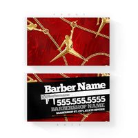 Red Hair Jordancuban Link Business Cards 2 X 35 Inches Barber
