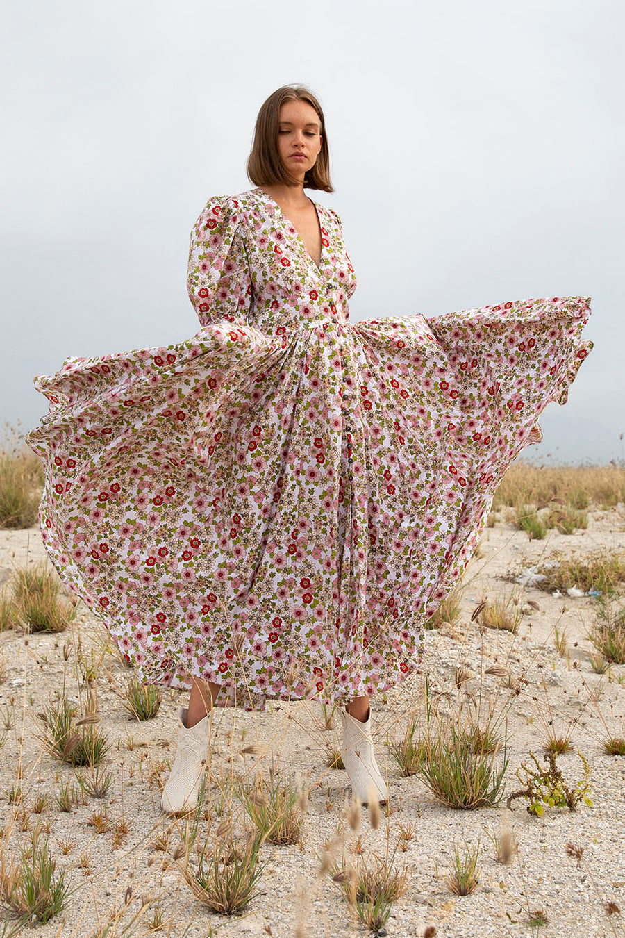XOLA SECRET GARDEN MAXI DRESS