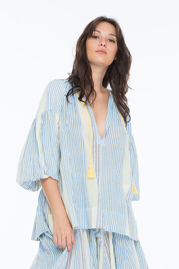 CHARLOTTE TOP VOGUE STRIPE BUTTER