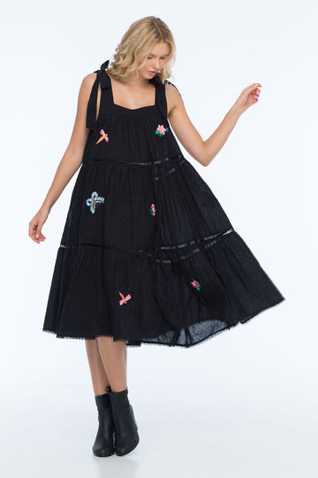 MARGOT EMBROIDERY DRESS