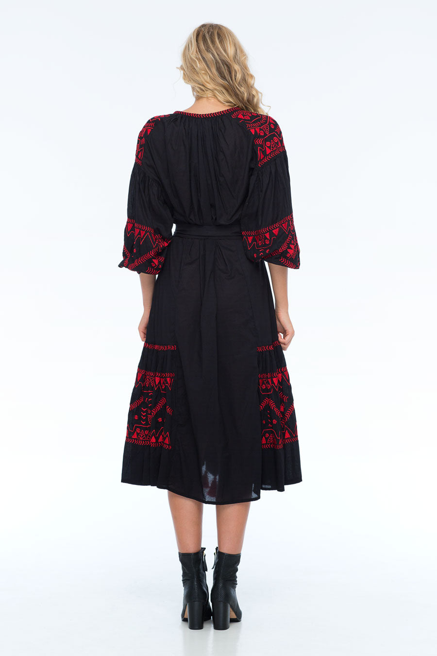 ROSEMARY BLACK MAXI DRESS