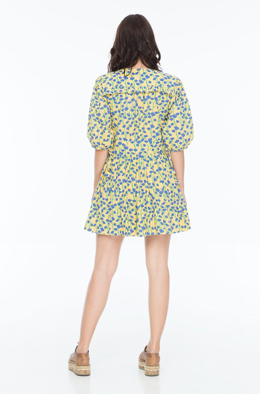 NAOMI SMITH DRESS VINE BUTTER