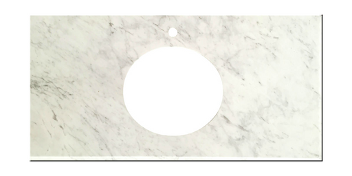 White Carrara Vanity Top
