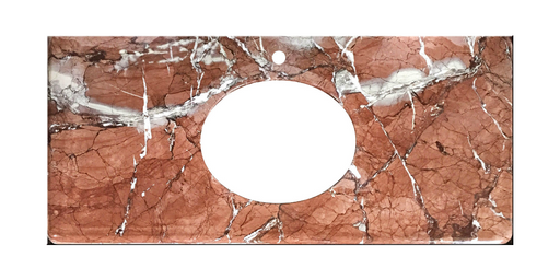 Rainforest Brown Marble Vanity Top