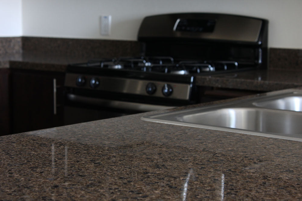 Terra Brown Quartz Countertop