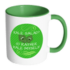 Kale Lover (Green Accent Mug)