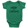 Poop is Coming (Infant Bodysuit)
