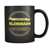 Visit Alderaan (Double Sided Black Mug)
