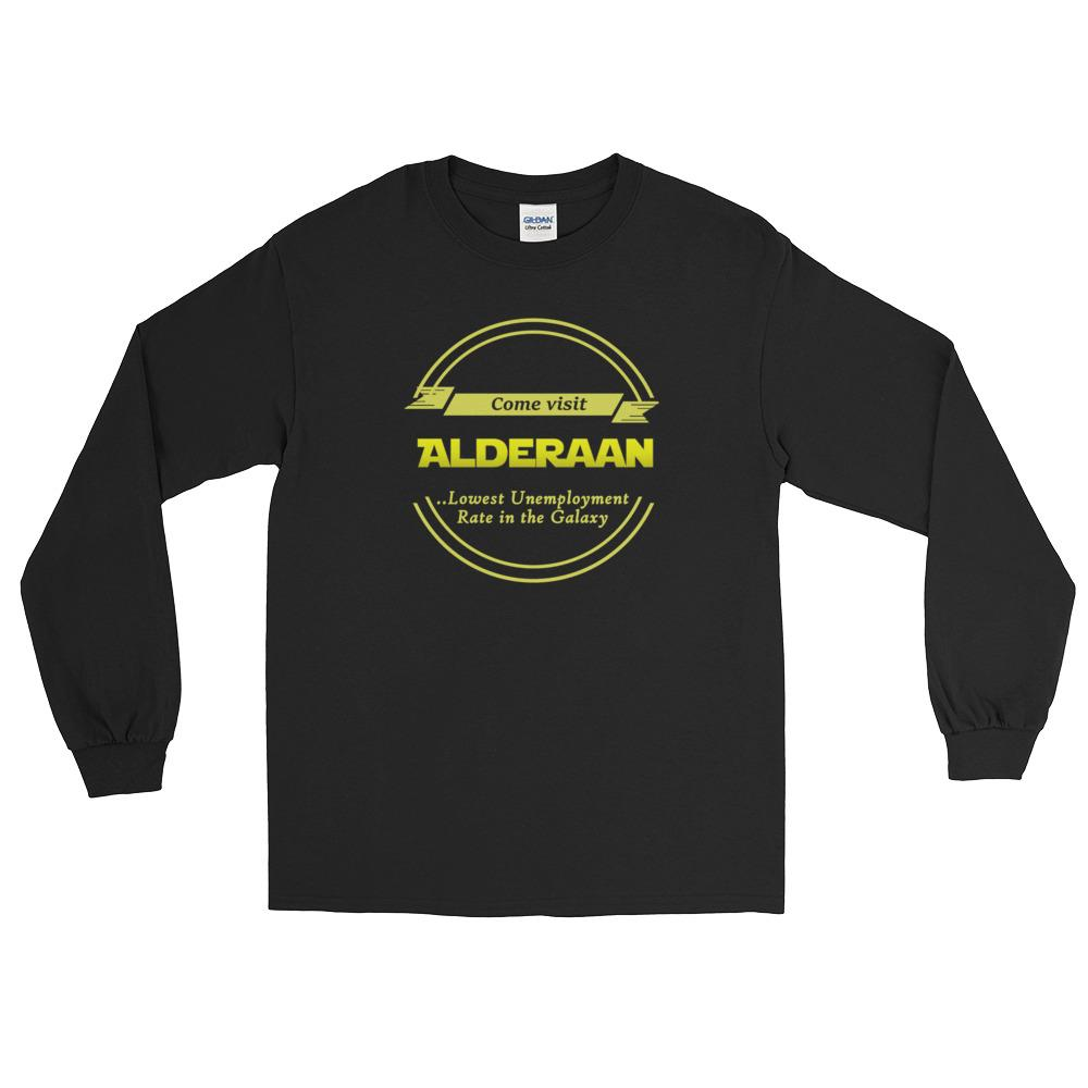fa31c385 Visit Alderaan (Long Sleeve T-Shirt) - Laughter Logic