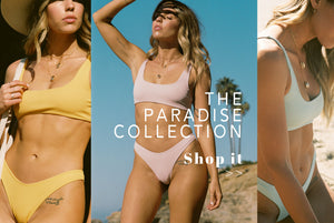 Wave Babe Swimwear SS19 Paradise Collection