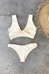 Havana High-Cut Bottom | Soft Yellow Hibiscus