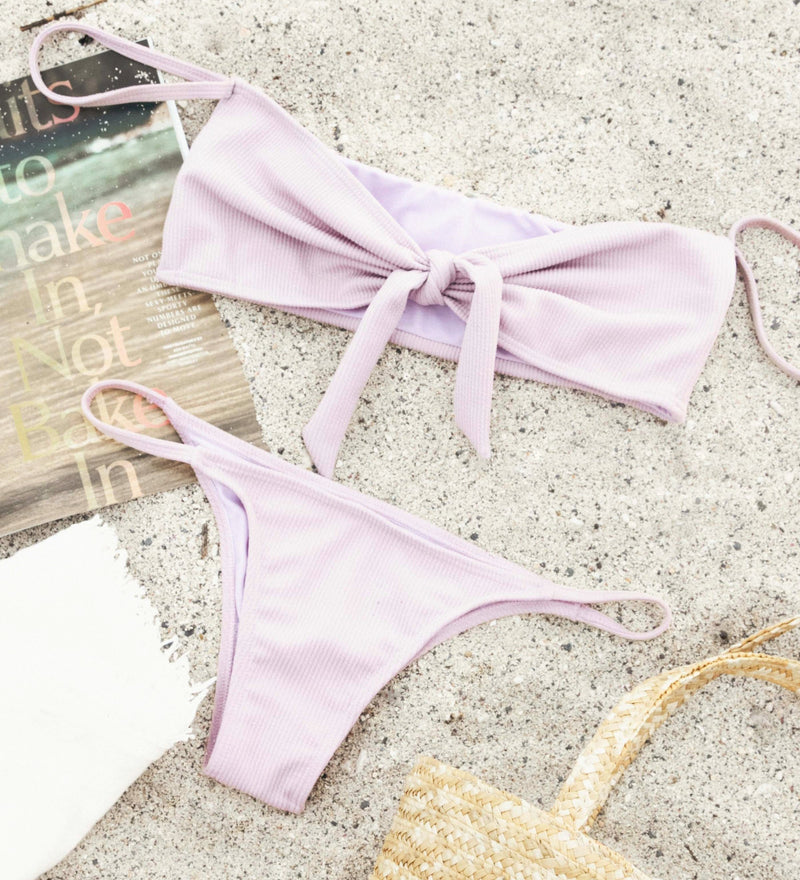 Lola Top | Lilac - Wave Babe Swimwear